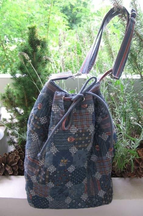 sac bleu bandoulière 002