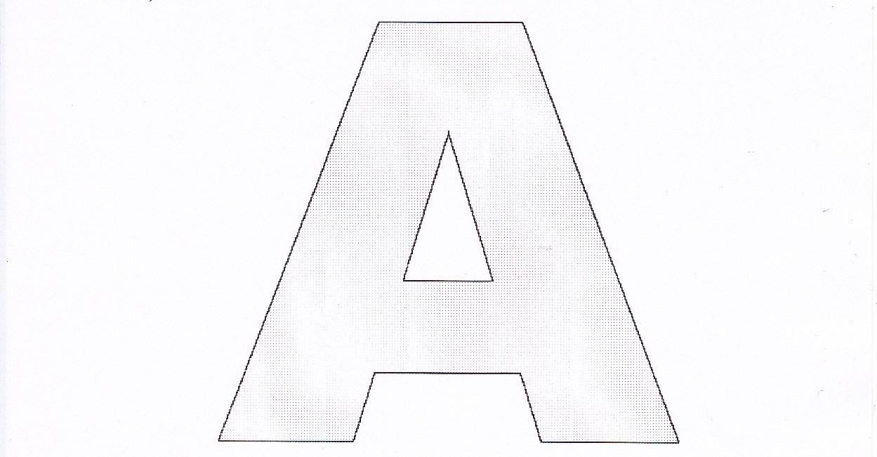 Dessiner un alphabet pour le patchwork passionpatchwork blog - Dessiner l alphabet ...