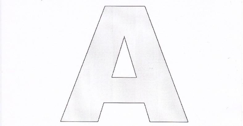 Dessiner un alphabet pour le patchwork passion patchwork - Dessiner l alphabet ...