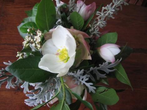 fleurs en hiver