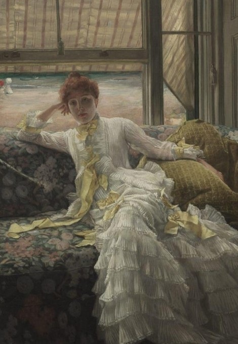 James-Tissot - juillet exemple de portrait 1878