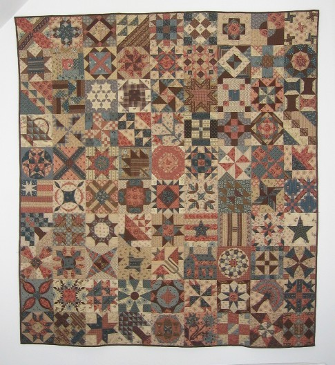 1865 Passion Sampler van Passion Patchwork