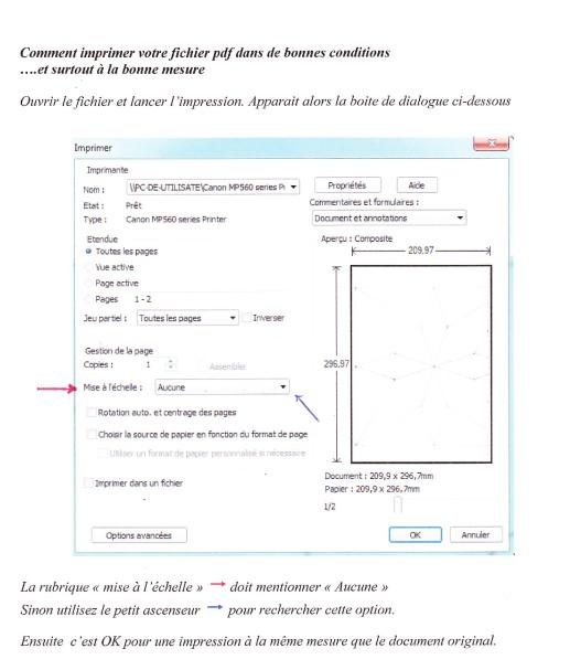 doc pdf à la bonne mesure