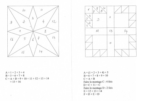 montage blocs 1 et 2