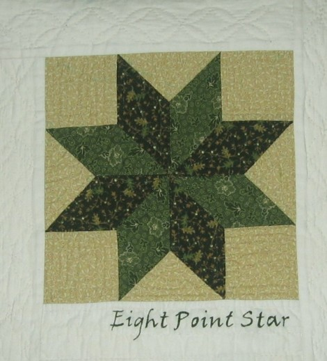 bom5 eight point star