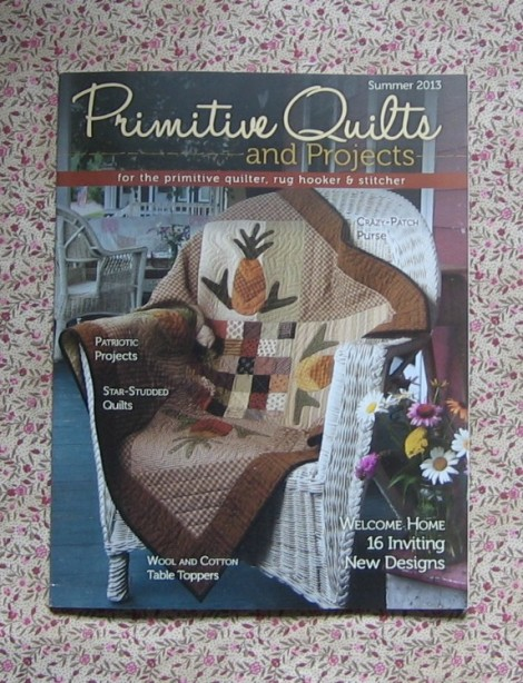 primitive quilts & projects summer 2013