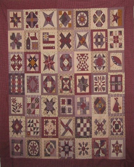 GMC 49 rectangulars blocks with 113 boutons