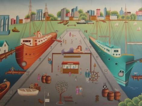 New York South Street Sea Port - Gisele Fabian USA