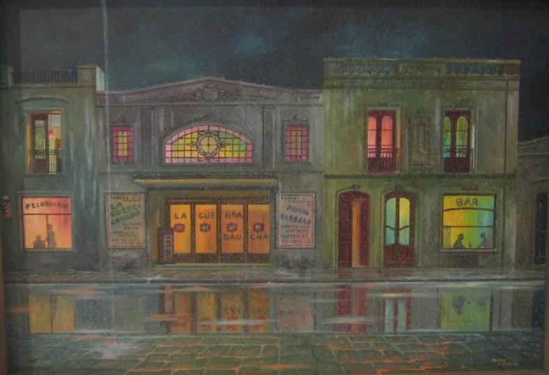 Rencontre avec la pluie - Aldo Parodi - Argentine