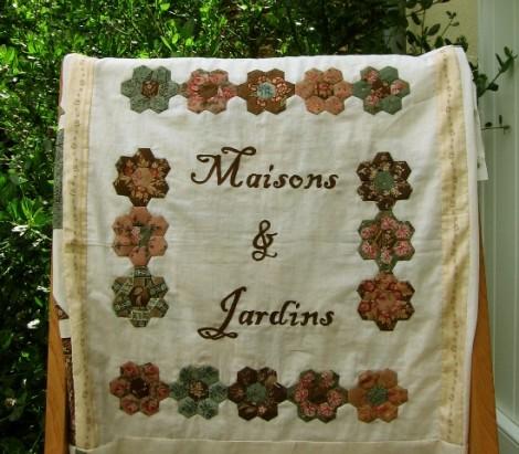 nouveau sampler Maisons & Jardins