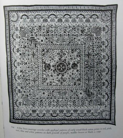 quilt original noir & blanc
