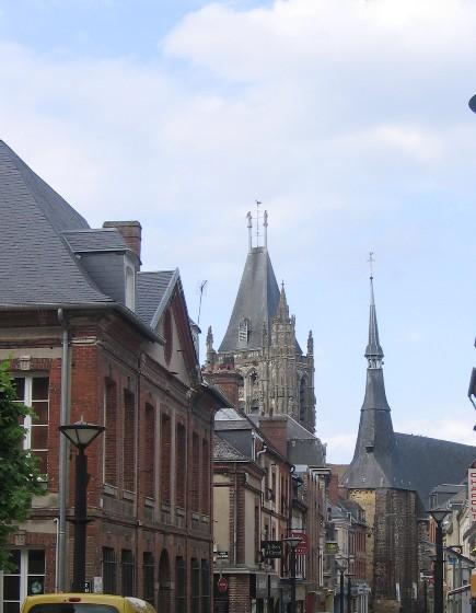 centre ville l'Aigle