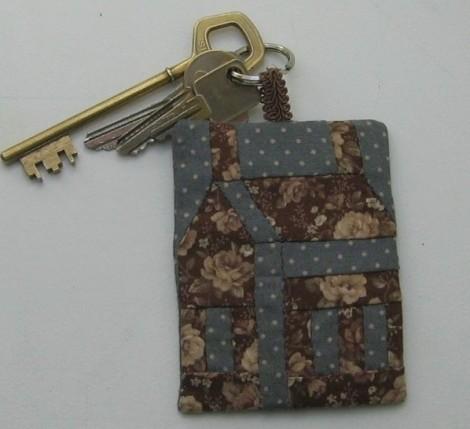 passionpatchwork - porte clés1