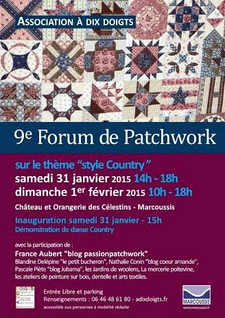 Forum de Patchwork 2015 - 1