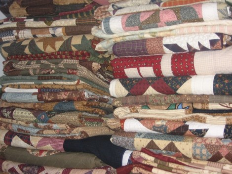quilts, quilts....